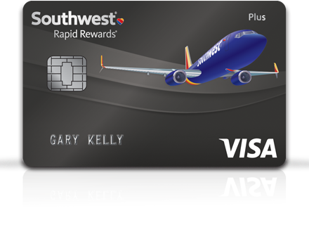 Southwest Airlines Rapid Rewards® Plus Credit Card from Chase