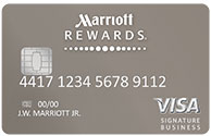 MARRIOTT REWARDS(R) PREMIER BUSINESS CREDIT CARD FROM CHASE