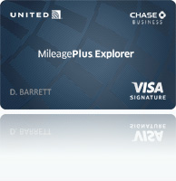 United MileagePlus Explorer Business Card