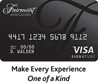 Fairmont Visa Signature Card
